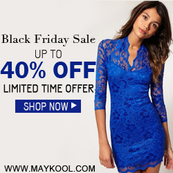 Black Friday Sale. Up to 40% Off @Maykool.com