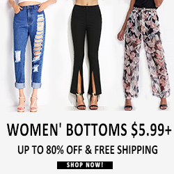 Women's Bottoms Low To $5.99 &Free Shipping Worldwide For All! Shop Now