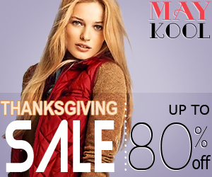 Thanksgiving Day Sale !Up To 80 % Off!