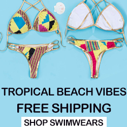 Tropical Beach Vibes & Free Shipping  Shop Now??