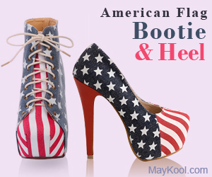 Flag Shoes Bootie