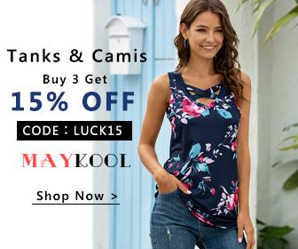 Maykool Tanks & Camis Buy 3 Get 15% Off