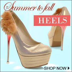 summer to fall heels