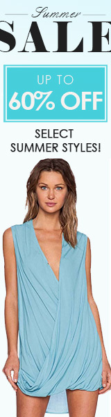 Up to 60% off! Select Summer Styles!