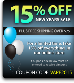 Halo Cigs - 15% off of Everyth...