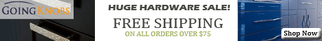 Huge Cabinet Hardware Sale!!  Click Here for Great Deals, Sales and Coupons!!