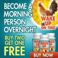 Wake Up On Time ~ Buy 2 Get 1 FREE!