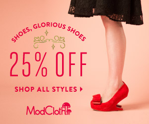 25% off All Shoes