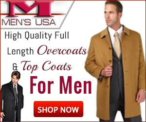 Overcoats & Top coats for Men