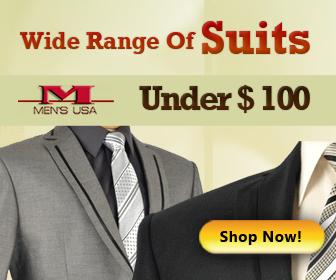Wide Range of mens suits under $100