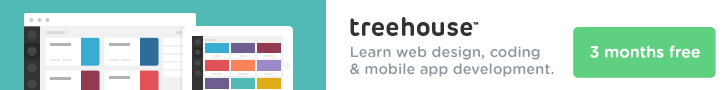 Treehouse - Learn web design, coding and mobile app development