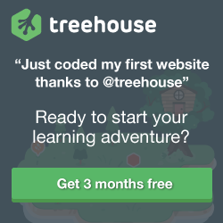 """Just coded my first website thanks to @treehouse"""