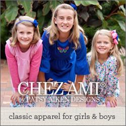 Chez Ami ~ Classic Children's Apparel