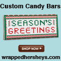 Shop Custom Candy Bars from WrappedHersheys.com