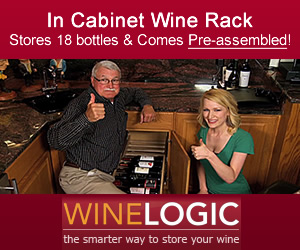 In-Cabinet Wine Rack