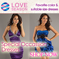 Customizing Special Occasion Dresses @ LoveSeason