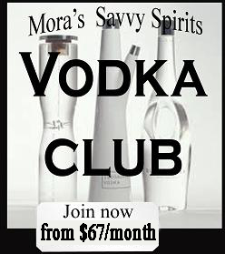 Join our Vodka of the month Club $70/month