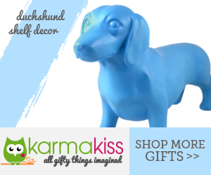 Duchshund Shelf Decor