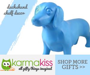 Duchshund Shelf Decor
