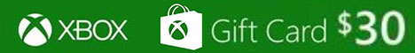 XBOX Live Gift Card 30 USD Key