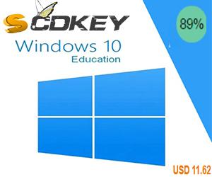 Microsoft Windows 10 Education CD-KEY GLOBAL