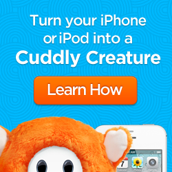 Ubooly iPhone iPod creature