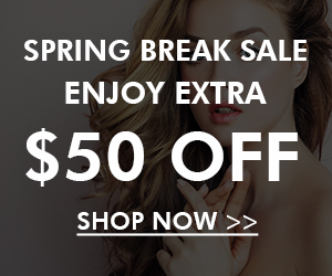 Hair Extensions Spring Break Sale