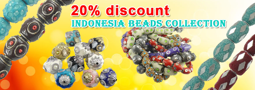 Indonesia Beads On Sale