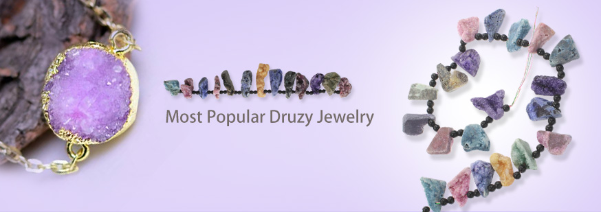 Hot Druzy Jewelry