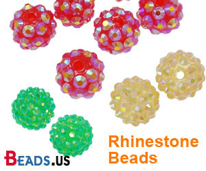 Rhinestone Beads On Sale