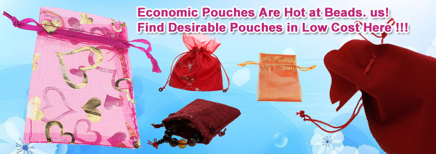 Find Desirable Pouches in Low Cost at Beads.us