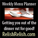 Relish menu plan