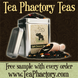 Tea Phactory Teas - Get  Free Sample with Every Order