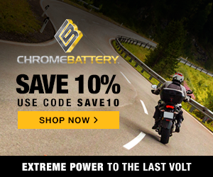 10% off all orders with code SAVE10 at ChromeBattery.com