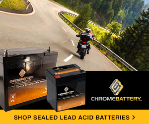 Shop sealed lead acid batteries at ChromeBattery.com