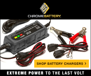 Shop battery chargers at ChromeBattery.com