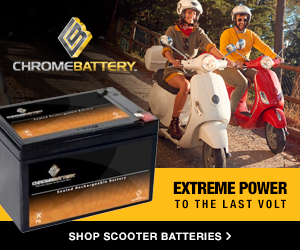 Shop scooter batteries at ChromeBattery.com
