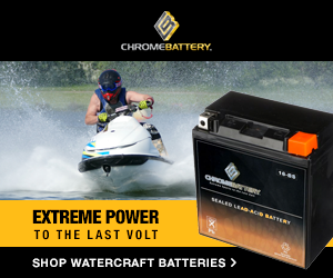 Shop watercraft batteries at ChromeBattery.com