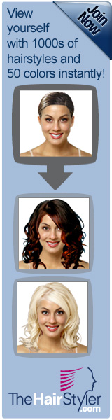 Virtual hairstyling program for hair makeover