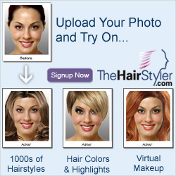 Virtual Hairstyler - View Yoursellf in up to 8,000 Hairstyles