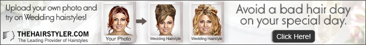 Try on a Wedding Hair Style for the Big Day!