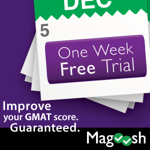Improve Your GMAT Score Guaranteed! Click here for your free trial!