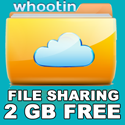 Whootin.com - Get 2 GB of File Sharing