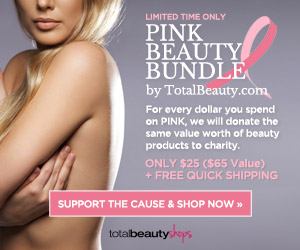 Support Breast Cancer Awareness with this Collection from TotalBeauty.com