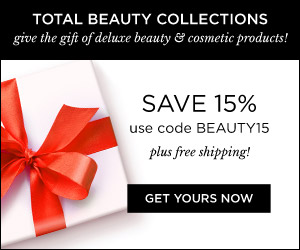 Get your Total Beauty Collection Now and Save 15%. Use code BEAUTY15