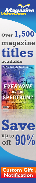 Magazine Values - Travel Magazine Subscriptions