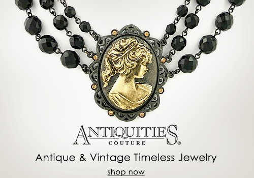 Antiquities Couture - Antique Inspired Jewelry
