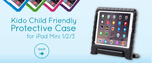 Kido Protective Case for iPad Mini 1/2/3