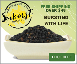 Free Shipping over $49 at Sunburst SuperFoods