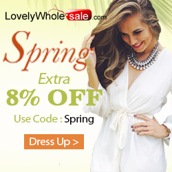 8% OFF Coupon:SPRING